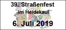 39. Straßenfest
